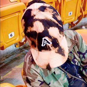 Accessories - Custom Bleached/Acid Wash Dad Hat Monogram Initial